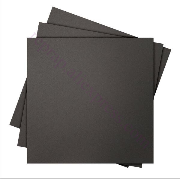 5pcs 220x220mm black Frosted Heated bed Sticker Build Sheet build plate tape with 3M Backing for