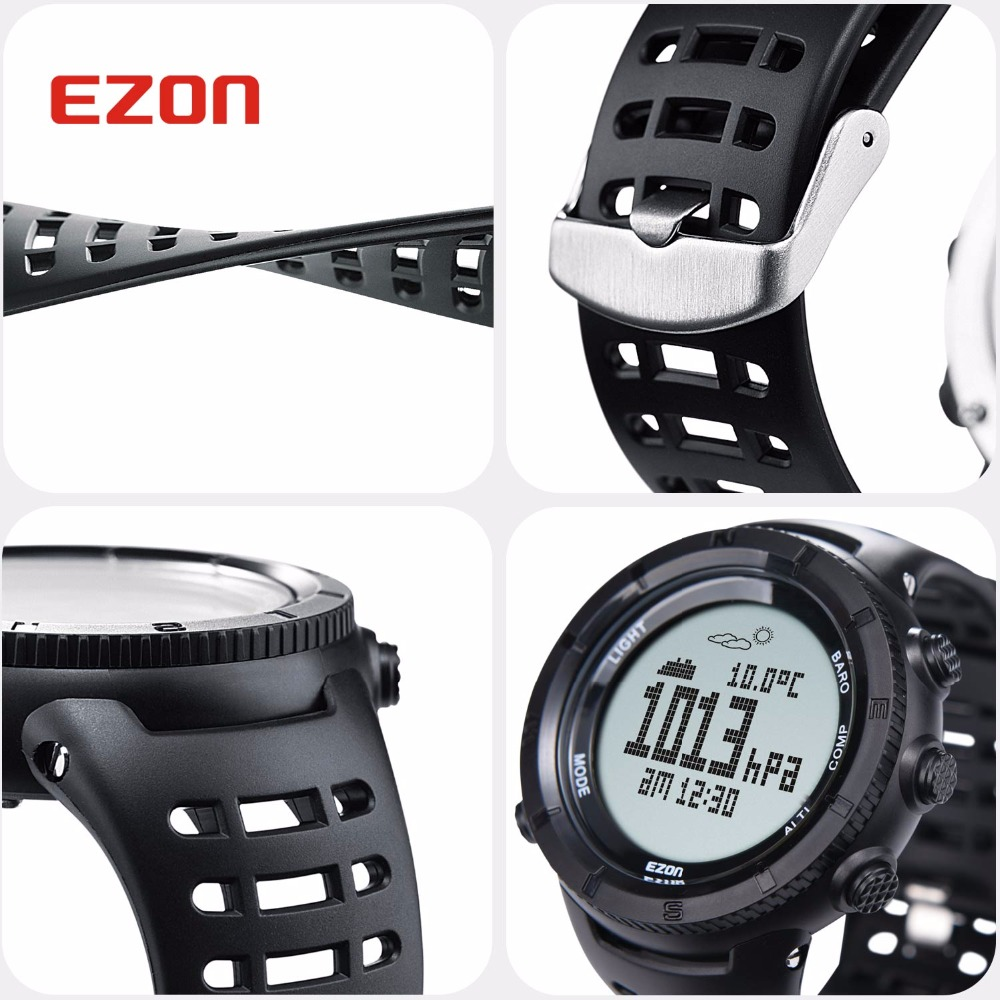 Image 4 - New EZON Multifunctional Hiking Watch Mens Sport Digital Watch  Hours Altimeter Barometer Compass Thermometer Climing  Wristwatchwristwatch digitalwristwatch menswristwatch compass -