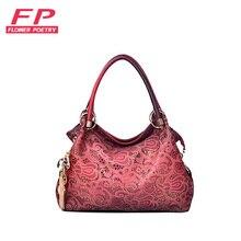 Frauen taschen luxury pu-leder tote taschen frauen handtasche hohl heraus umhängetasche diamant-anhänger red umhängetaschen für damen