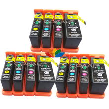 12 PK Compatible 100XL Ink Cartridge for Lexmark Pro202 Pro205 Pro206 Pro207 Pro701 Pro702 Pro703 Pro705 Pro706 Pro802 Pro803