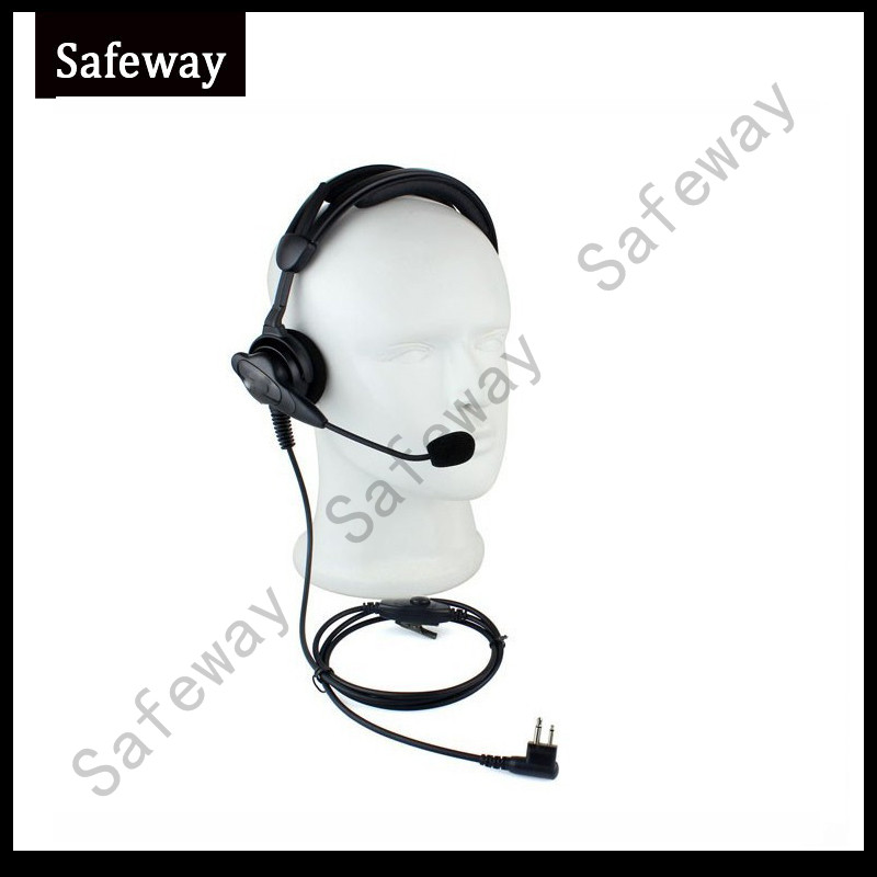 High Quality Two Way Radio Headset With In Line PPT Mic Push To Talk For Motorola CP040 EP450 GP300 HYT TC500