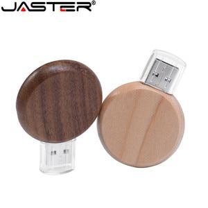 Wooden Mini USB Flash Drive 4G