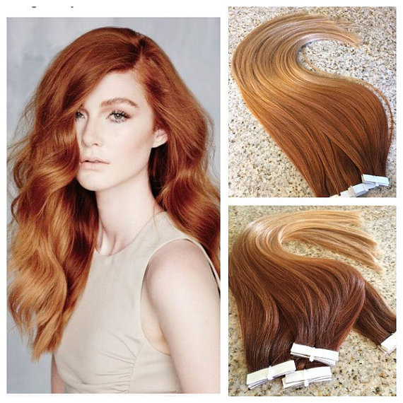 Ombre Color Human Hair Extension High Quality Brazilian Straight