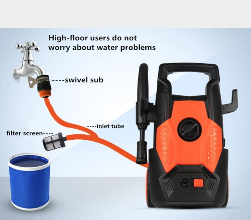 NEW 1400W Car Washing Machine Portable High Pressure Car Washer Household Tool
