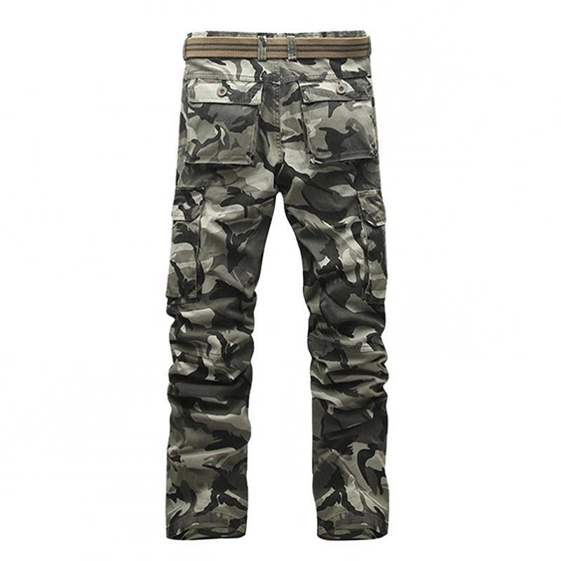 Image 3 - Тактические штаны, джинсы Airborne, повседневные, размера плюс, хлопковые, дышащие, мульти карманы, военные, армейские, камуфляжные, брюки карго для мужчин-in Брюки-карго from Мужская одежда