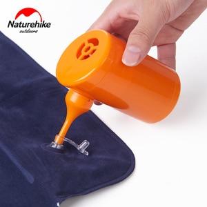 Image 2 - Naturehike Elektrische Aufblasbare Pumpe Für Outdoor Air Matte Camping Feuchtigkeit beweis Matratze Reise Kissen Mini Tragbare Aufblasbare