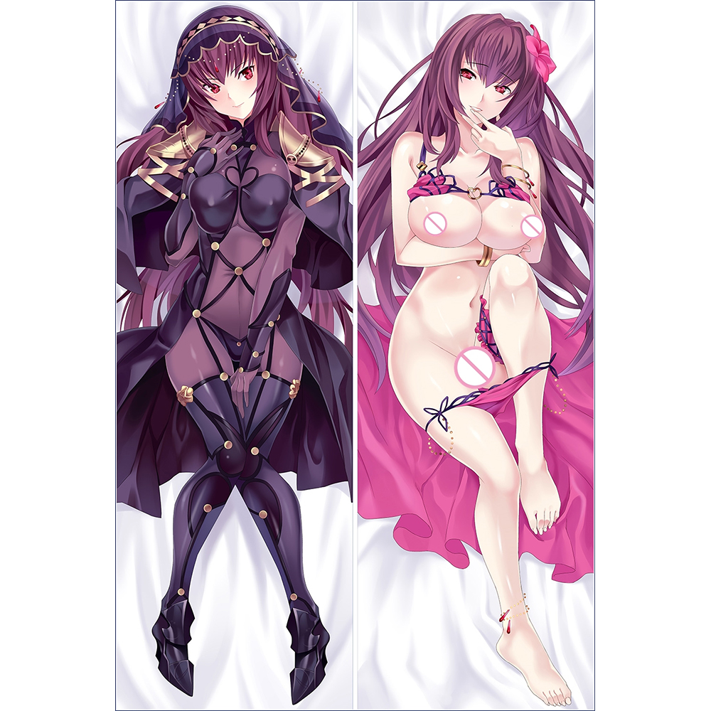 Japanese Anime FGO FateGrand Order Evening Call Sexy Hugging Body Pillow Cover Case Pet Decorative Pillows Pillowcase 2way in Pillow Case from Home Garden