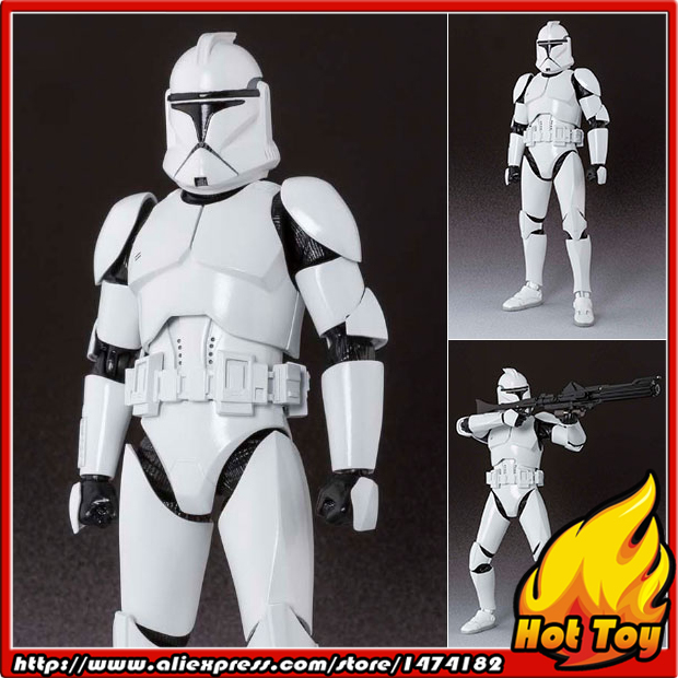 BANDAI Tamashii Nations S.H.Figuarts (SHF) Action Figure - Clone Trooper Phase 1 Star Wars Episode II: Attack of the Clones united nations the universal declaration of human rights
