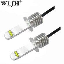 Wljh 2x автомобиль свет H1 ламп накаливания авто ближнего света Габаритные огни DRL вождения Туман лампы DC 12 -24 В 6000 К 30 Вт