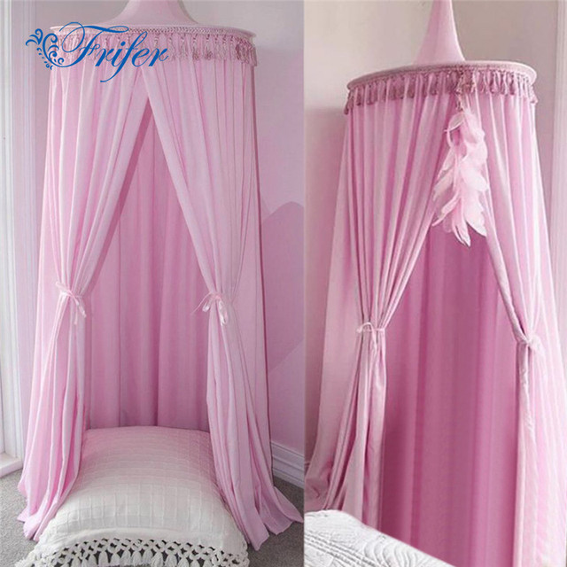 Round Dome Baby Tent Tassels Crib Netting Palace Bedroom Baby Bed Curtain Kids Girls Mantle Mosquito & Round Dome Baby Tent Tassels Crib Netting Palace Bedroom Baby Bed ...