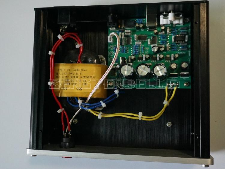 Finished CS4398 CS8416 Audio DAC Decoder Supports Coaxial USB Input 32K -192K/24BIT цена