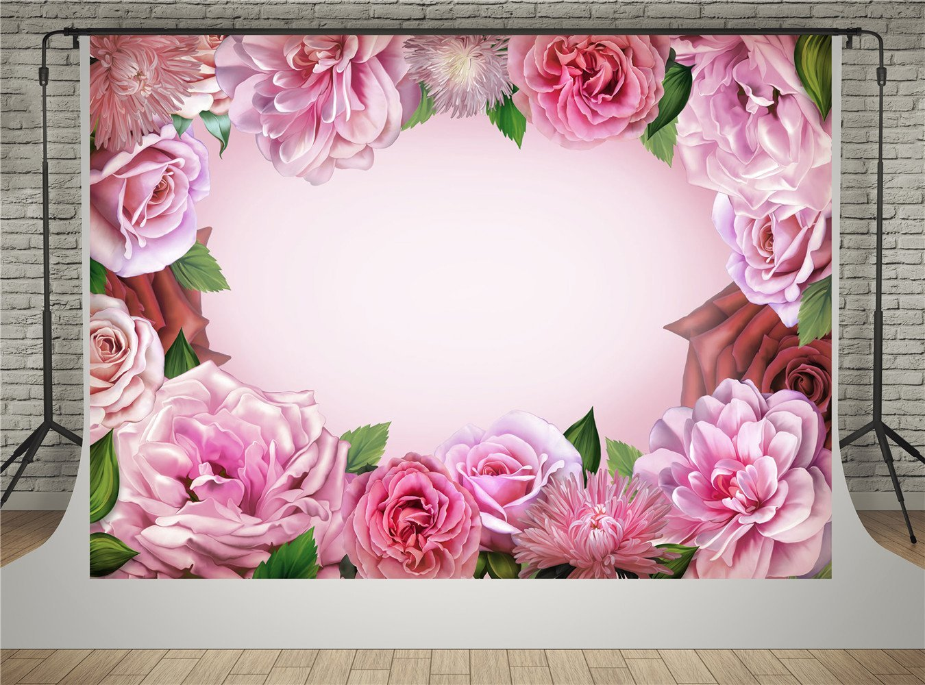 Detail Feedback Questions About Vintage Pink Roses Flowers Leaves