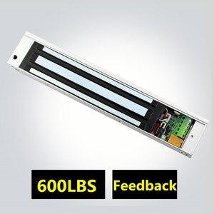 Image 4 - SZBestWell 60 kg/180 kg/280 kg (100LBS 350LBS 600LBS) מחזיק כוח חשמלי מנעול מגנטי להשתמש עבור בקרת גישה מערכת שימוש