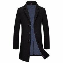 Человек Длинный плащ шерстяное пальто Зима peacoat мужская шерстяное Пальто мужские пальто мужские пальто мужской одежды, М-3XL(China (Mainland))