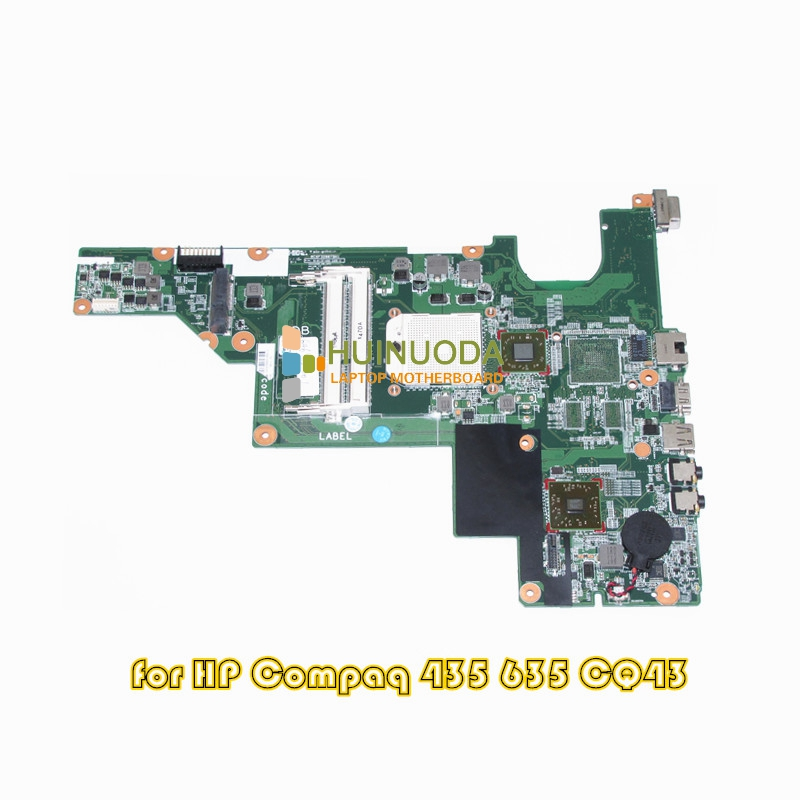 NOKOTION 646982-001 for HP Compaq 435 635 CQ43 laptop motherboard HD4200 DDR3 nokotion 646176 001 laptop motherboard for hp cq43 intel hm55 ati hd 6370 ddr3 mainboard full tested