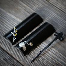 цена на TANGPIN black iron tea accessories handmade tea ceremony set kung fu tea tools