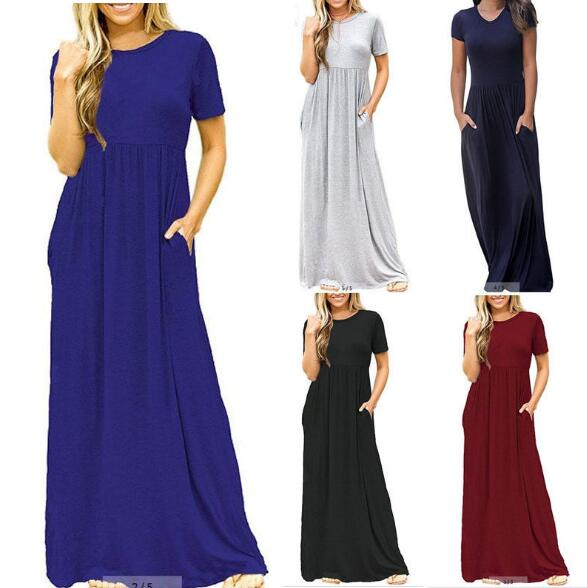 Women Summer Boho Beach Bodycon Dress Elegant Evening Party Dresses Tunic Vestidos