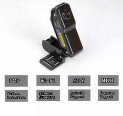 8 GB karta + Mini IP/WIFI bezprzewodowy CAM MD81s zdalnego nadzoru nagrywania z systemem Android IOS