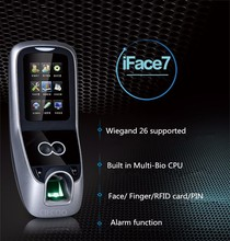 Iface7 ZK software Facial recognition and fingerprint access control with ID card iface7 with full accessories only for SG