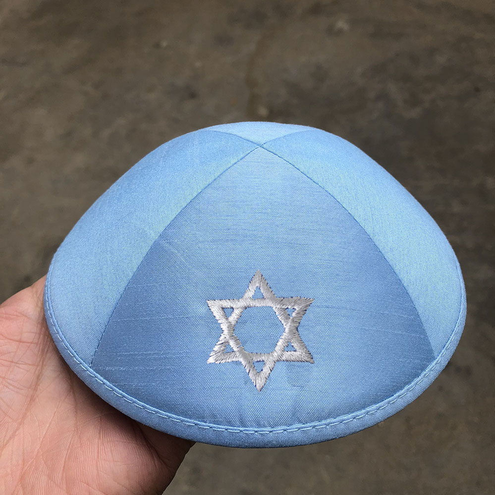 RAWSILK KIPOT KIPPOT KIPPAH CAPS YARMULKES CIPA JEWISH CAPS without outside logo