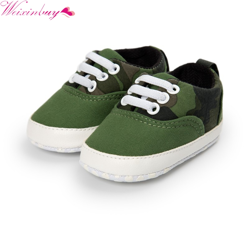 Spring Autumn Toddler Infant Baby Boy Shoes Patchwork Casual Sneaker PU Striped Soft Sole Crib Shoes