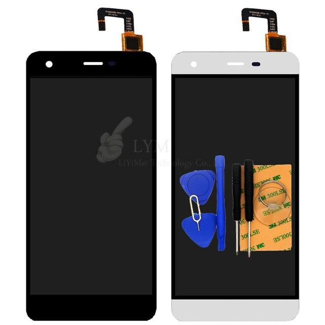 """Белый LCD + TP для Ulefone 5.5 """"ЖК-Дисплей С Сенсорным Экраном Дигитайзер Панели Ассамблея Телефон Замены Деталей Бесплатно доставка + Инструменты"""