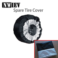 NWIEV 1X Car Spare tire cover Dustproof and Rainproof For BMW E90 F30 F10 Audi A3 A6 C5 C6 Hyundai i30 ix35 ix25 KIA Accessories