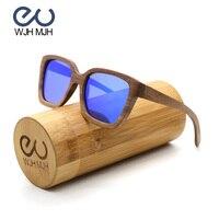 Sand Dune Square Gafas de sol 2018 Handmade Wooden Frame Polaroid Lens Women Eyewear Oc Customize With Retro Wooden Gift Box OEM