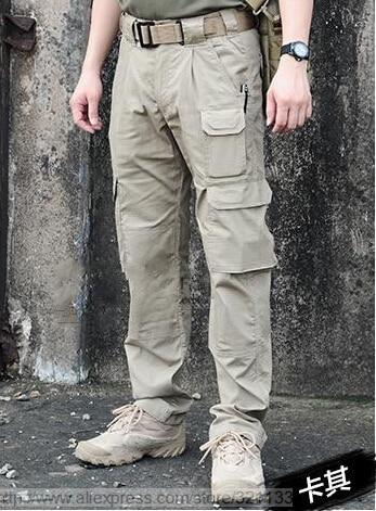 mens lightweight cargo pants - Pi Pants