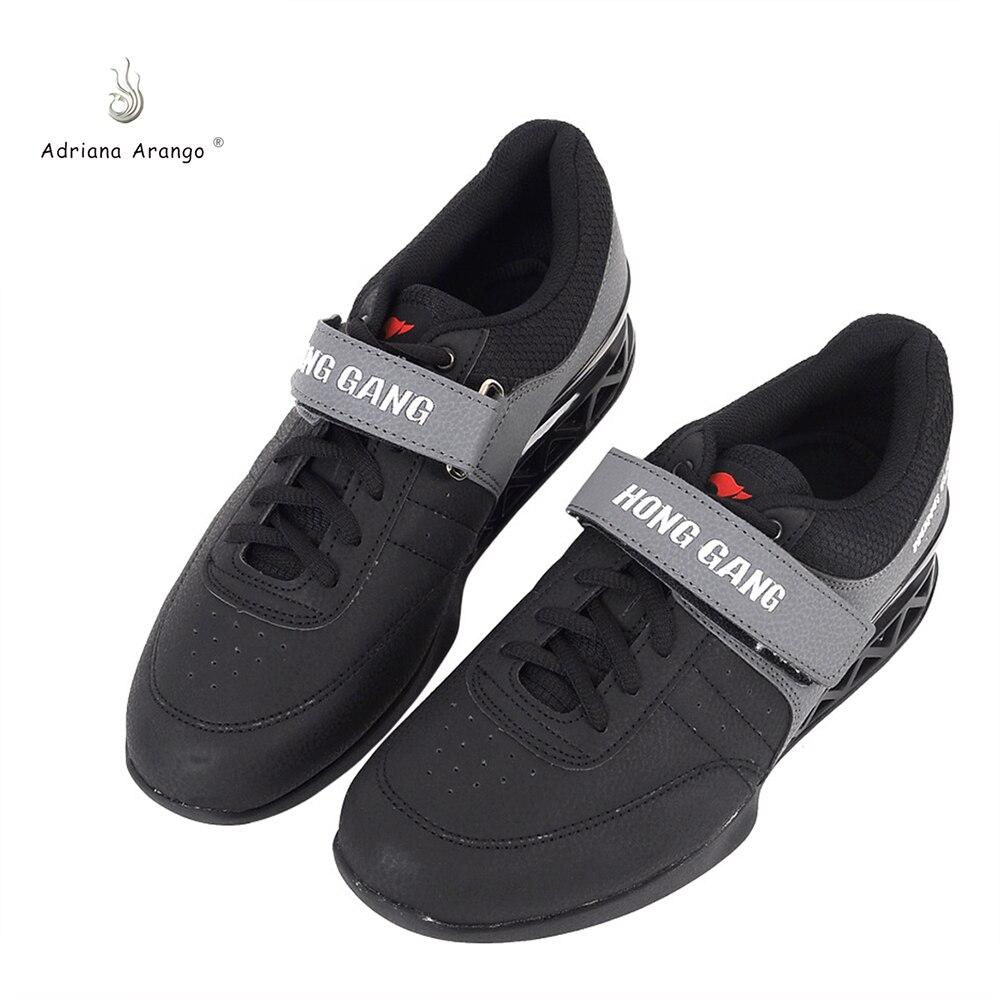 9c75cd073 2019 Sapatos De Levantamento De Peso Levantamento de Adriana Sapatos para  Suqte Couro Antiderrapante Sapato De