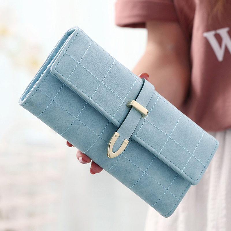 2018 New Women Wallets Female Leather Purses Large Capacity Coin Card Holders Fashion Ladies Wallet Clutch Long Design Carteras 4
