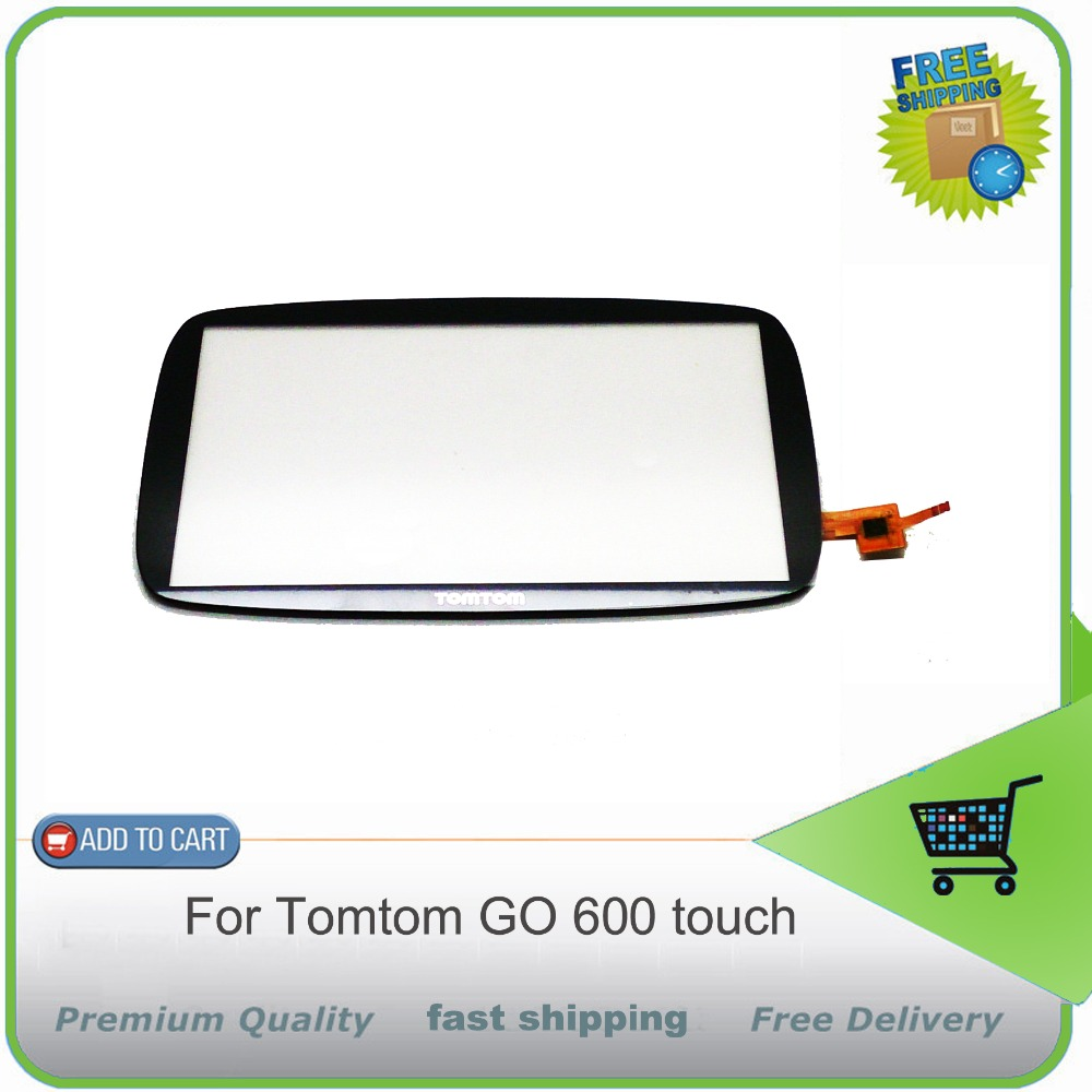 ФОТО New OEM For Tomtom GO 600 GO 6000 Touch Screen Digitizer Glass Sensors Replacement Black free shipping