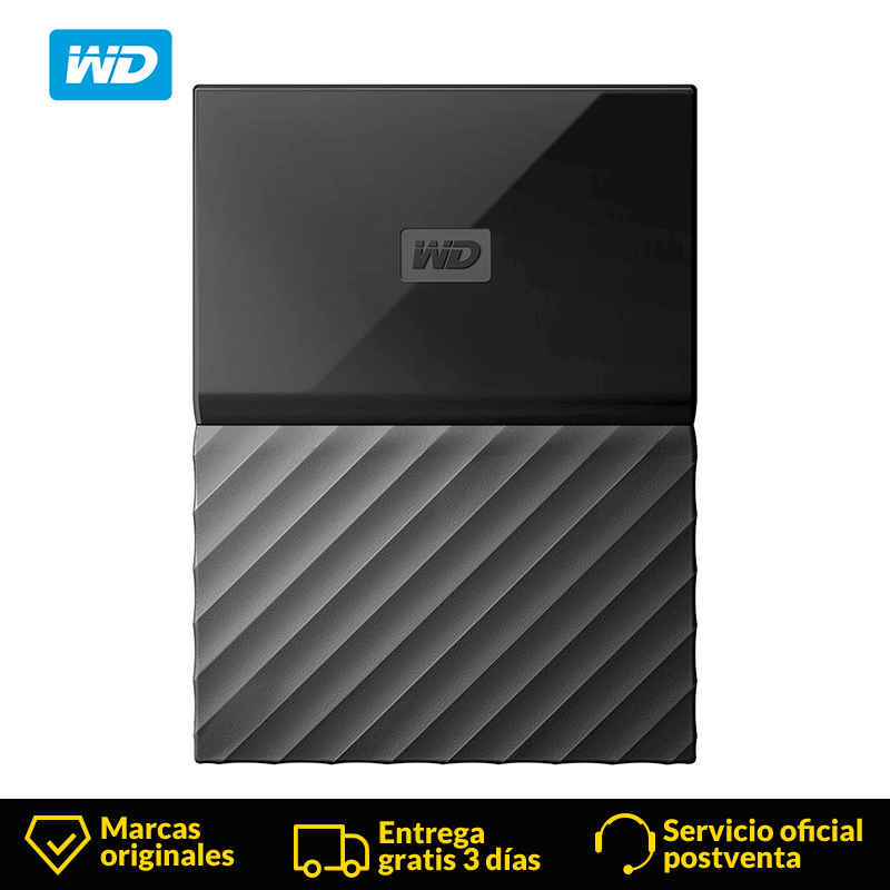 WD Western Digital WDBYFT0030BBK My Passport 3 TB Portable Hard Drive and Auto Backup Software for PC Xbox One and PlayStation 4 image