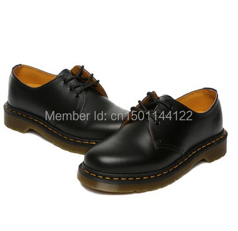 Free Shipping Dr Martins 1461 SMOOTH Women  Men s Genuine Leather Shoes  Ankle Martens Autumn Boots Shoes-in Ankle Boots from Shoes on  Aliexpress.com ... 4a711e9ae3d2