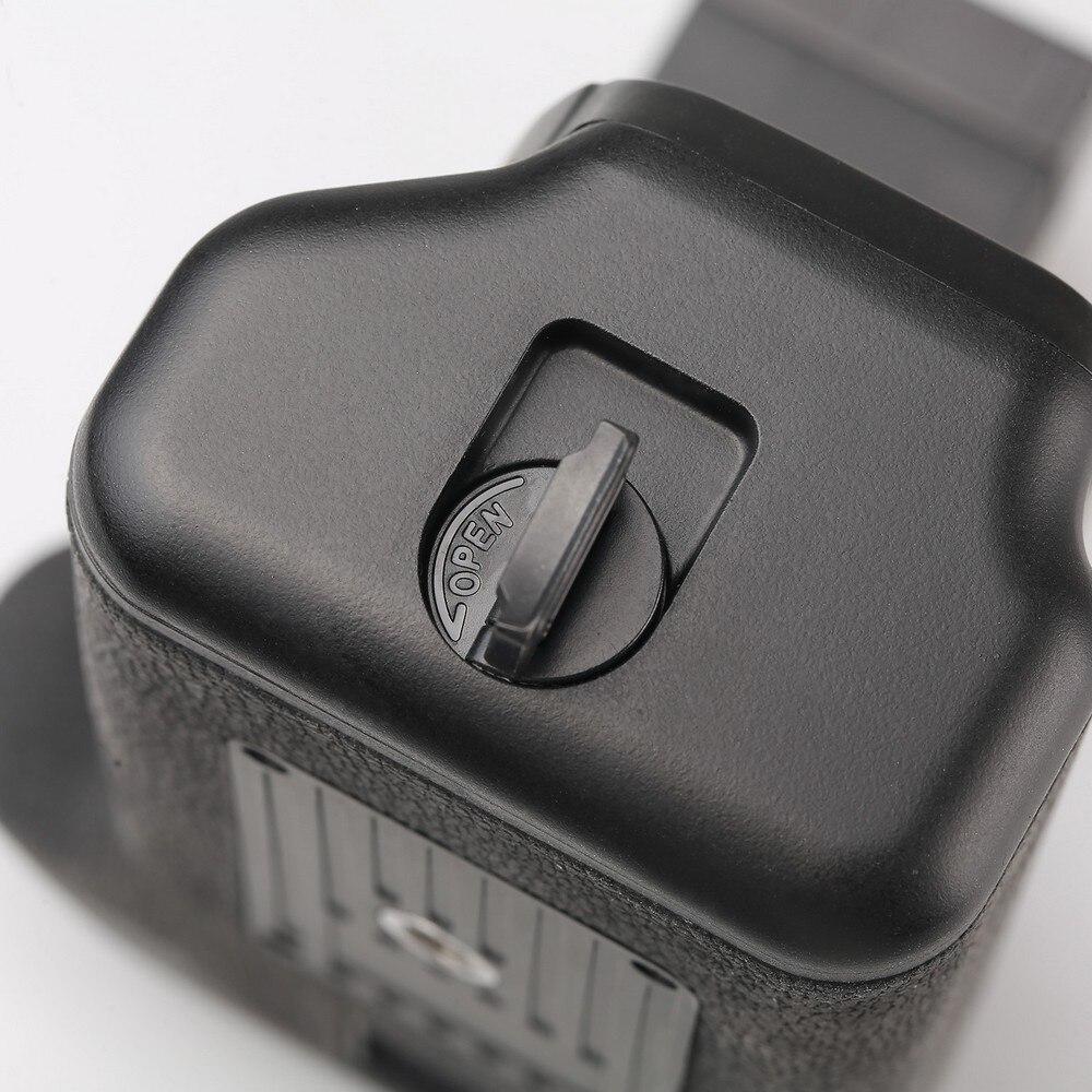 Poignée de batterie verticale multi-puissance spash pour Canon 800D rebelle T7i 77D Kiss X9i DSLR support de batterie pour appareil photo fonctionne avec LP-E - 6
