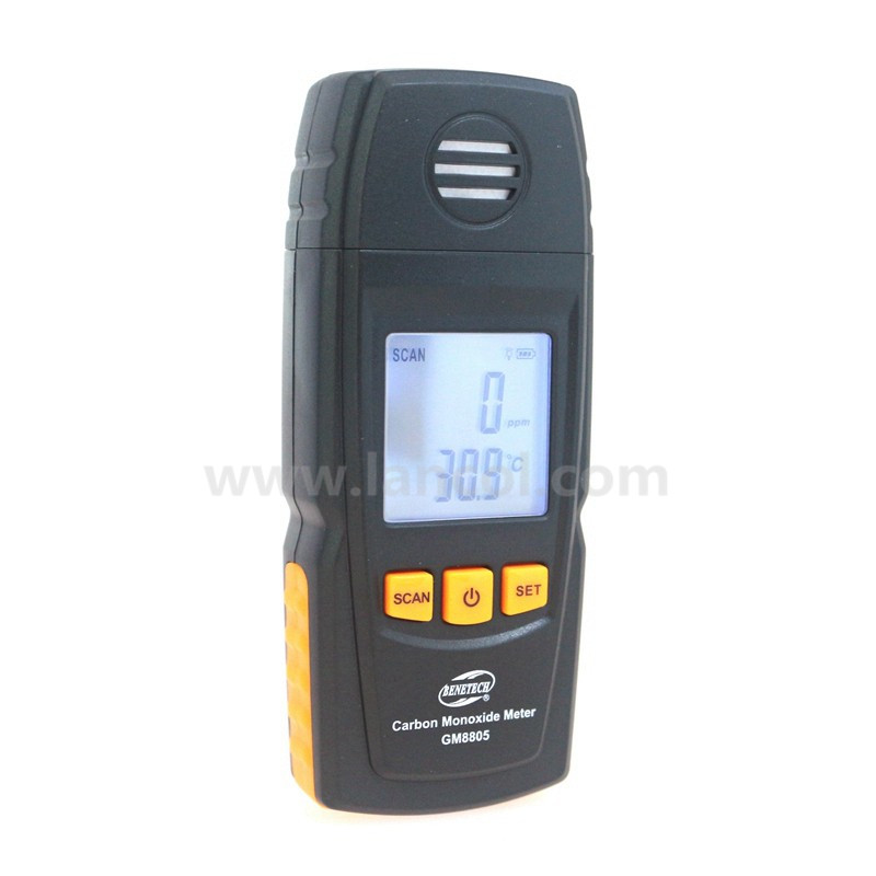 GM8805 Handheld Carbon Monoxide Meter with High Precision CO Gas Tester Monitor Detector Gauge 0-1000ppm