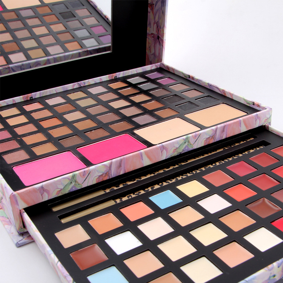 ФОТО 2 Option Asian and South America Color Eyeshadow Pretty Women Cosmetic Eye shadow Palette Make Up Kit Blush Lip Gloss Concealers