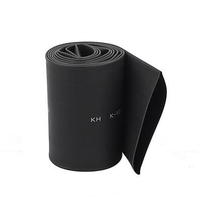 Black Electric Wire Cable Heat Shrink Tubing Tube Wrap Sleeve 1 Meter Length 40mm недорого