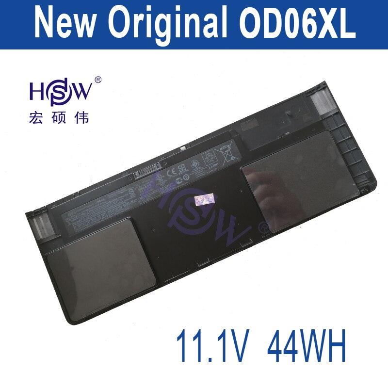 HSW for Hp Battery Elitebook Revolve 810 G1 Tablet Hstnn-ib4f Hstnn-w91c 698750-171 698943-001 698750-1c1 Od06xl 44wh bateria laptop battery for hp bl06xl hstnn db5d 722297 001 722236 171 elitebook folio 1040 g1