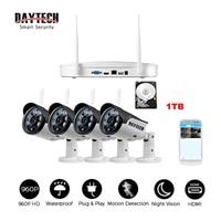Daytech Surveillance IP Camera WiFi Home Security Camera System NVR KIT Waterproof VGA HDMI Video Network