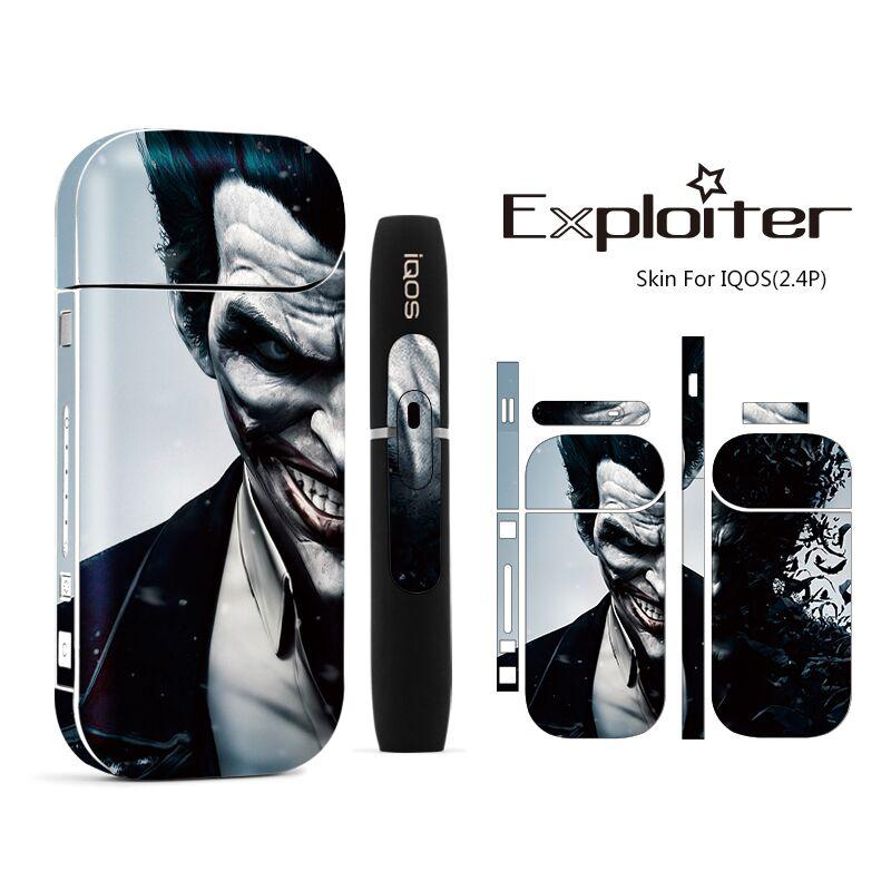 Cigarette électronique Accessoires PVC Matériel Autocollant pour IQOS 2.4 IQOS 2.4 Plus Manches Anti-Poussière Décoratif Housse De Protection