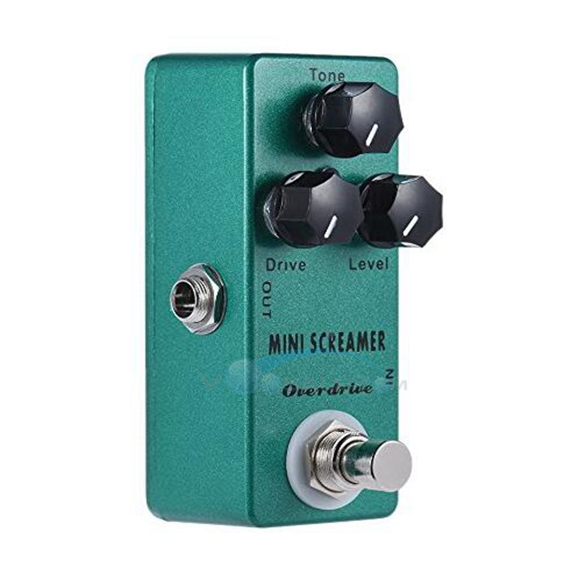 buy mosky mini screamer guitar effect pedal mini single with true bypass zinc. Black Bedroom Furniture Sets. Home Design Ideas