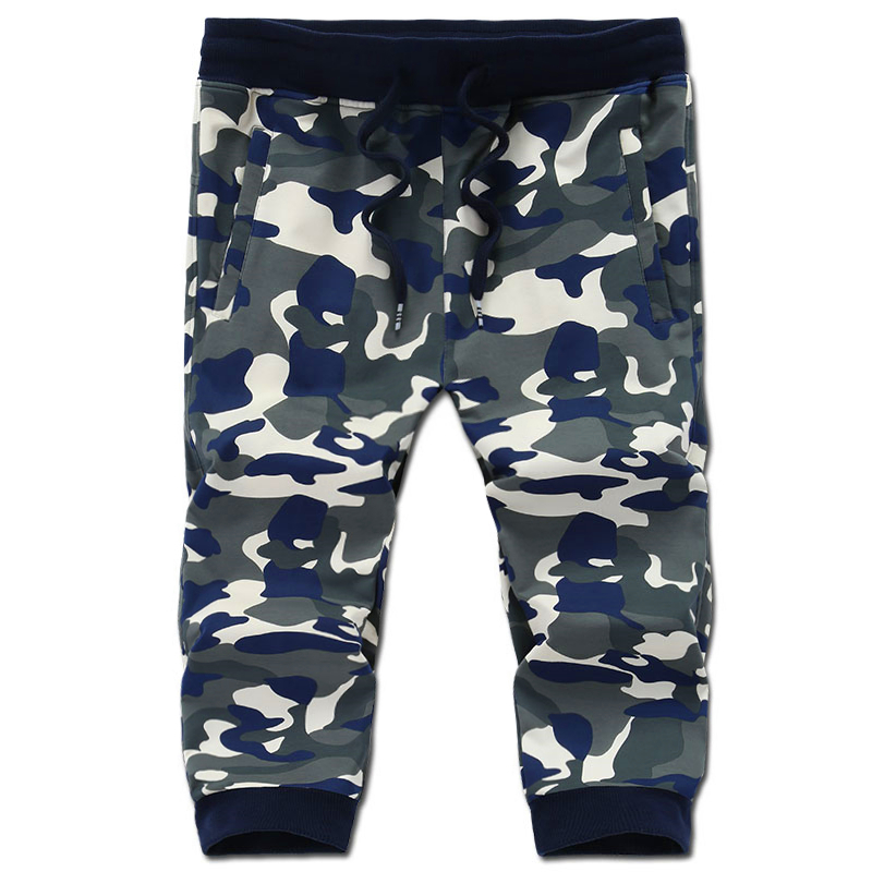 Free shipping large size L xxl 4xl 5xl 6xl 7xl 8xl cotton elastic waist shorts shorts men Camouflage short trousers hiphop