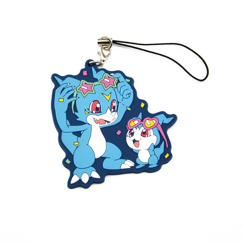 Цифровой Монстр Digimon Приключения V-ПН Chibimon Модель брелок кулон телефон ремешок игрушка в подарок