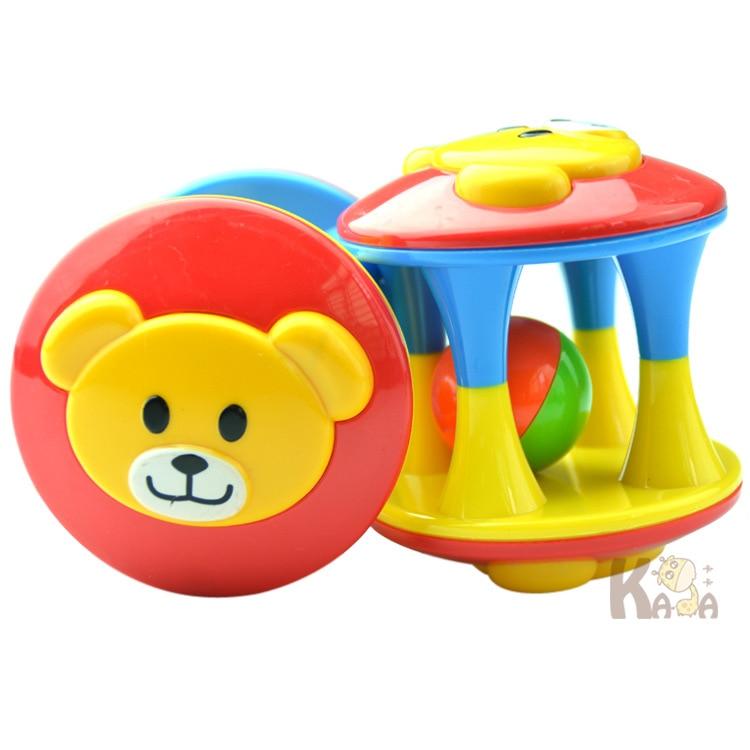 1 stks Baby Speelgoed Plezier Little Luid Jingle Ball, Ring jingle Ontwikkelen Baby Intelligentie, Training Grijpen vermogen Speelgoed Voor Baby 6 M-1 Jaar