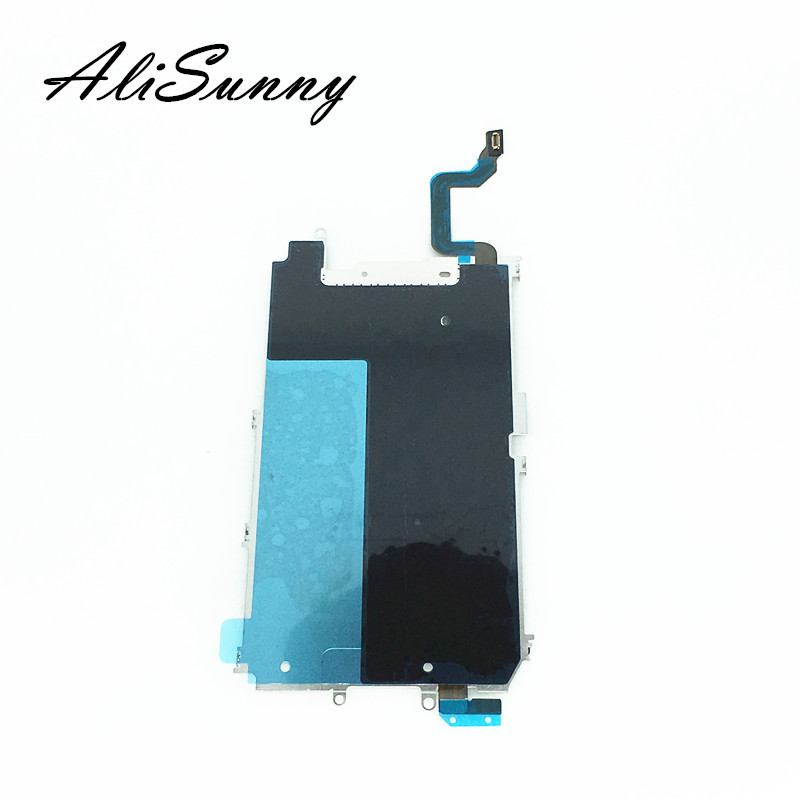 AliSunny 10pcs BackPlate for iPhone 6 4.7'' Plus 6Plus 6G LCD Metal Back Plate Shield Home Button Extend Long Flex Cable Parts
