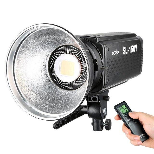 Godox SL-150Y 3200K Studio LED Video Light Fill light Photo LED Light Bowens Mount  for Studio Video Portrait shooting