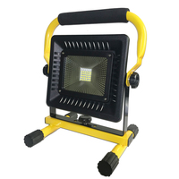 50W Flood Light LED Outdoor Floodlight Camping Work Light Portable Lantern Spot Rechargeable 18650 Led Spotlight