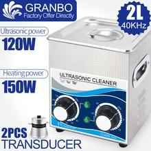 120 W 2L Ultrasone Cleaner Multi Functie 40 khz 110 V/220 V Ultrasound Wasmachine Hardware Injector Bougie roest Olie Nozzle Verwijderen