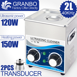 Image 1 - 120 W 2L Ultrasonic Cleaner ฟังก์ชั่น 40 khz 110 V/220 V Ultrasonic เครื่องซักผ้าฮาร์ดแวร์หัวฉีด Spark Plug น้ำมันป้องกันสนิมหัวฉีดกำจัด